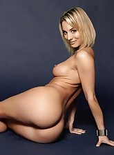 Kaley Cuoco has great tits and sweet butt - no wonder every geek wants to fuck her!