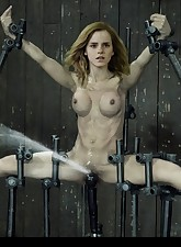 Emma Watson showing her nice set of titties doing some softcore and hardcore scenes