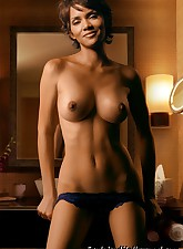 Halle Berry looks smoking hot nude!